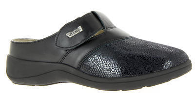 Zdravotnické pantofle Varomed Ischia, černá | 36,5 | H 1/2
