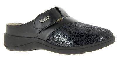 Zdravotnické pantofle Varomed Ischia, černá | 40,5 | H 1/2