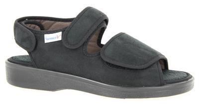 Zdravotní obuv Varomed Lugano, černá | 46 | L