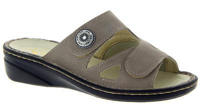 Zdravotnické pantofle Varomed Maria, šedá | 40 | H