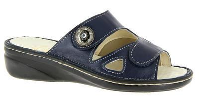 Zdravotnické pantofle Varomed Maria, modrá | 43 | H