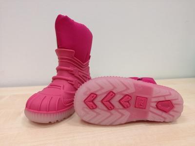 Zimní obuv Bimbo fuxia dívka - 2