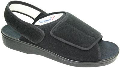 Obvazové pantofle Varomed Ibiza, černá | 48 | L - 2
