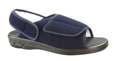 Obvazové pantofle Varomed Ibiza, modrá | 38 | L - 2