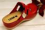 leons 900 v.40 zdrav.obuv červená, Velikost 40 - 2/3