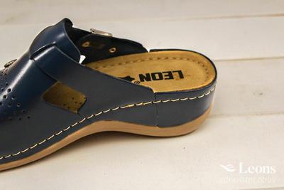leons 900 v.39 zdrav.obuv modrá, Velikost 39 - 2