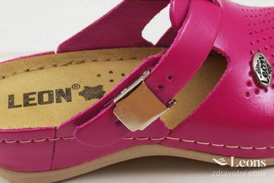 leons 900 v.38 zdrav.obuv růžová, Velikost 38 - 2