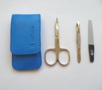 Pfeilring Original Solingen Luxusní cestovní manikúrová sada 11186 Modrá - 2