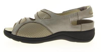 Dámské sandály Varomed Berlin, šedá | 42 | H 1/2 - 2