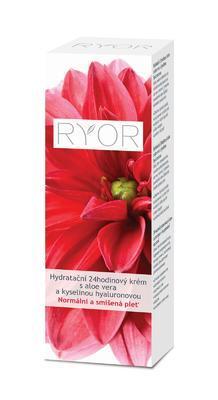 Ryor hydratační 24 hodinový krém s aloe a kyselinou hyaluronovou - 3