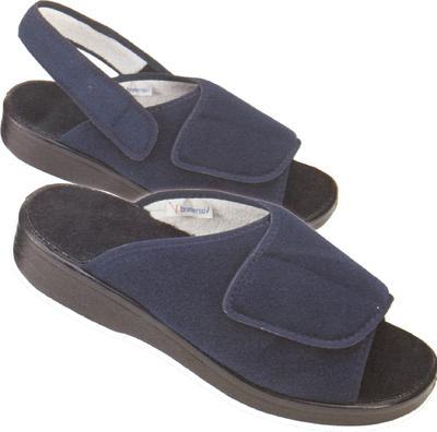 Obvazové pantofle Varomed Ibiza, modrá | 45 | L - 3