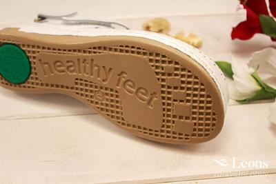 leons 950 v.37 zdrav. obuv bílá, Velikost 37 - 3
