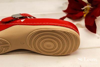 leons 900 v.40 zdrav.obuv červená, Velikost 40 - 3