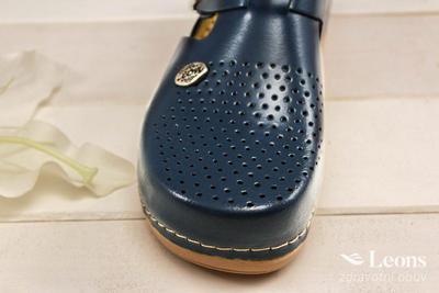 leons 900 v.37 zdrav.obuv modrá, Velikost 37 - 3