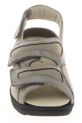 Dámské sandály Varomed Berlin, šedá | 42 | H 1/2 - 3
