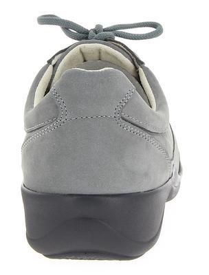 Sportovní lehká kožená polobotka Varomed Messina, šedá | 35 | H 1/2 - 3