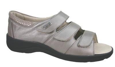 Dámské kožené sandály Varomed Moskau - 3