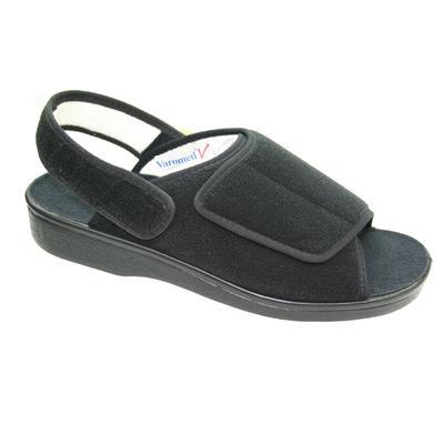 Obvazové pantofle Varomed Ibiza, černá | 40 | L - 4