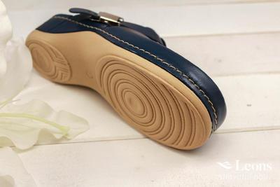 leons 900 v.39 zdrav.obuv modrá, Velikost 39 - 4