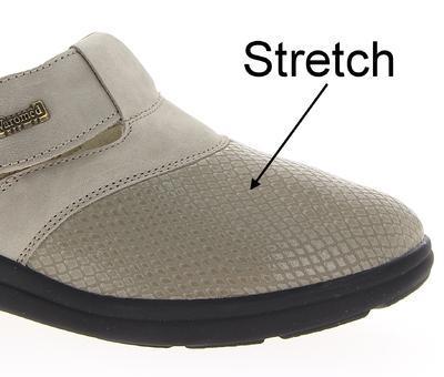 Zdravotnické pantofle Varomed Ischia, šedá | 41 | H 1/2 - 6